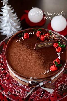 チョコムースケーキ Köstliche Desserts, Delicious Desserts, Dessert Recipes, Jewel Cake, Cake Designs Images, Drip Cakes, Buttercream Cake, Cake Cookies, Sprinkles