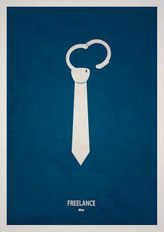 corporate america is prison.  minimalism by Ian_Rabbit