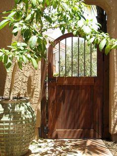 Fence Gate Designs Cedar Lattice With Gate Fences