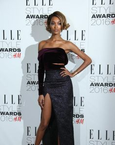 Jourdan Dunn showing how you can style a bob in many ways this season