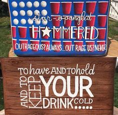 Fraternity Coolers, Frat Coolers, Cooler Painting, Diy Painting, Nola Cooler, Hand Painted Coolers, Formal Cooler Ideas, Beer Pong Tables, Cool Tables