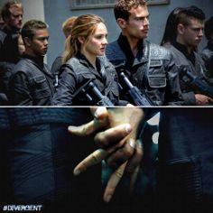 Together they will change the world. DIVERGENT
