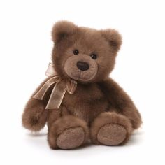 GUND is proud to present Howie - a classic tan inch teddy with serious vintage appeal. Features high-quality plush material, as well as a decorative fabric bow. Surface-washable for easy cleaning. Teddy Beer, Bears Game, Cute Teddy Bears, 4 Kids, Children, Toy Sale, Baby Toys, New Baby Products, Plush