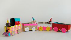 All Cardboard! We found 10 clever ways to make tracks to playtime.