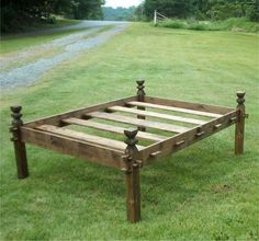 A 10th Century Norwegian Bed-