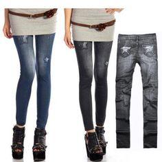 Women's Jeggings Stretch Skinny Leg..