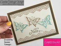 CraftyCarolineCreates: Card Swap Update and First Showcase