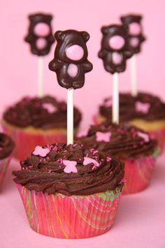 Chocolate Banana Cupcakes | My Food Obsession www.myfoodobsession.com
