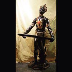 Montezuma Blackamoor Statue