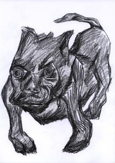 "Saatchi Art Artist Pedro Uribe Echeverria; Drawing, ""VINDICTE"" #art"