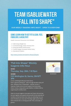 """Team IsaBluewater """"Fall into Shape"""""""