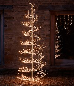 Pop Up Spiral Christmas Tree