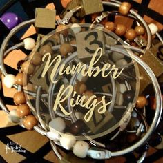 Several teachers in my school have sets of these counting rings. I love the wooden cube with the number written on it. The loose leaf rings are large (perhaps 3 inches) with the corresponding number of wooden beads. What a powerful way to present number quantity. Reggio-Inspired Ideas | Math Ideas | Fairy Dust Teaching