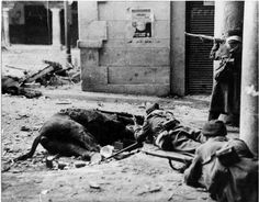 Republican Snipers at the Battle of Teruel, January, 1938. The Battle of Teruel was intended to cut off the Nationalist salient around the town of Teruel.