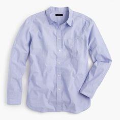 Oversized boy button-up shirt