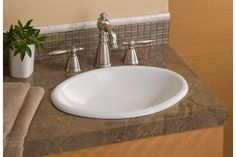 Shop Cheviot Mini Oval Drop-In Basin Self Rimming Bathroom Sink, White at Lowe's Canada. Find our selection of drop in bathroom sinks at the lowest price guaranteed with price match + off. Drop In Kitchen Sink, Drop In Bathroom Sinks, Undermount Bathroom Sink, Bathroom Signs, Bathroom Vanities, Master Bathroom, Faucet, Drop In Tub, Drop In Sink