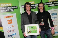 """Last year we won the prize """"best webshop of the Netherlands"""" in the category Consumer Electronics, small shops."""