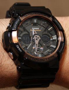 Casio G-Shock GA200RG Watch Review