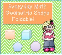Foldable to help students identify geometric shapes!