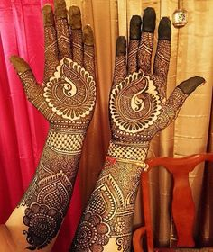 lovely full hands dulhan henna designs #mehndi #mehndidesign #henna #hennadesign #mehndidesignforhand #hennaforhand