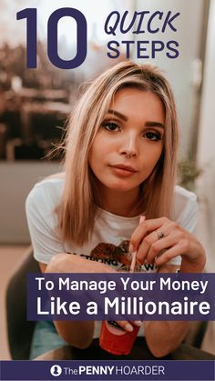 10 Quick Steps That'll Have You Managing Your Money Like A Millionaire - Finance tips, saving money, budgeting planner Ways To Save Money, Money Saving Tips, How To Make Money, Money Talks, Managing Your Money, Budgeting Finances, Financial Tips, Do It Yourself Home, Money Matters