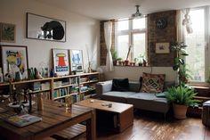 Interior Inspiration, Room Inspiration, Living Room Decor, Living Spaces, Japanese Interior Design, Cool Rooms, House Rooms, Home And Living, Interior Architecture