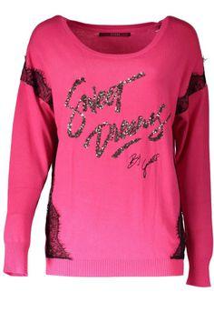 Maglia Donna Guess Jeans (BO-W62R05Z1100 G662) colore Rosa