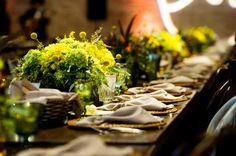 Rustic Wedding Rehearsal Dinner