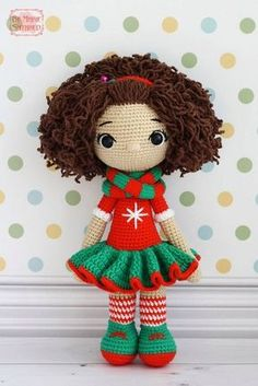 Mesmerizing Crochet an Amigurumi Rabbit Ideas. Lovely Crochet an Amigurumi Rabbit Ideas. Cute Crochet, Crochet Crafts, Crochet Baby, Crochet Projects, Crochet Doll Clothes, Knitted Dolls, Crochet Dolls, Amigurumi Patterns, Amigurumi Doll