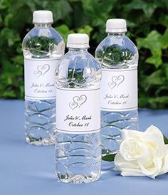 Simple and Elegant Double Heart Print Your Own Water Bottle Labels, for Weddings, Parties, and Events Package of 72 Darice http://www.amazon.com/dp/B00DJ5TOKU/ref=cm_sw_r_pi_dp_3Sxfxb0QNN8B2