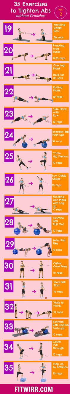 35 mummy tummy toning exercises to flatten your abs