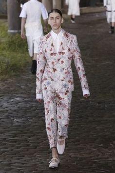 Alexander McQueen Spring Summer Menswear 2014 London