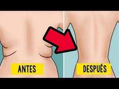 2 SIMPLES MOVIMIENTOS PARA ELIMINAR LOS ROLLITOS DE LA ESPALDA - EJERCICIOS - YouTube