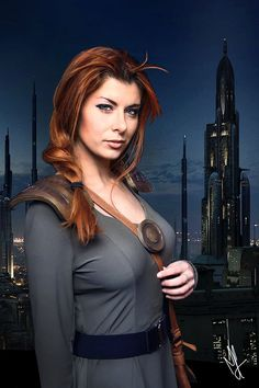 STARWARS - Mara Jade (19 ABY) by Queen-Azshara.deviantart.com on @DeviantArt Star Wars Rpg, Star Wars Jedi, Star Trek, Mara Jade Star Wars, Thrawn Trilogy, Anthology Film, Star Wars Girls, Girls With Red Hair, She Is Gorgeous
