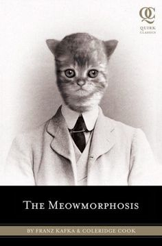 Meowmorphosis By  Coleridge,  Is a retelling/mashup of Kafka's Metamorphosis and The Trial. it has a kitten instead of a bug,  Coleridge's version creates a new poignancy to the work.
