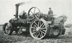 Image Display Agriculture, Farming, Steam Tractor, Old Tractors, Milton Keynes, Vintage Farm, Modern Times, Steam Engine, Vintage Photography