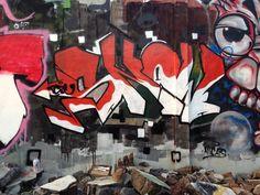 """Graffiti wall HUT RI ke 70 """"MERDEKA"""""""