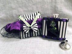 Rockabilly Bettie Skeleton Lace Garter & by CrazyJanesCustoms, $24.99