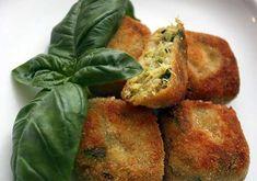 Gnocchi Di Zucchine E Ricotta - Best Pins italian Veggie Recipes, Vegetarian Recipes, Snack Recipes, Healthy Recipes, Healthy Food, Vegetarian Appetizers, Appetizer Recipes, Party Food And Drinks, Unique Recipes