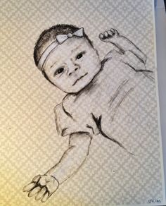 Drawing 3/3 for a beautiful couple and their children