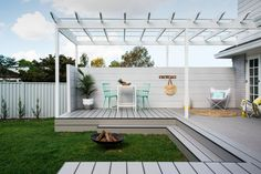 """""""Cladding crazy"""" is how Lana from Three Birds Renovations describes their latest project, the Northmead Renovation. The use of cladding both indoors and outdoors gives this classic Australian home a modern refresh."""