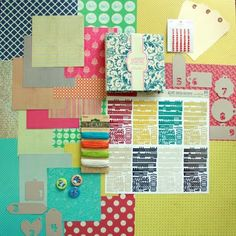 Make your own scrapbook page kits and speed up your scrapbooking - Scrapbooking Ideas, Scrapbook Layouts, Scrapbook Design
