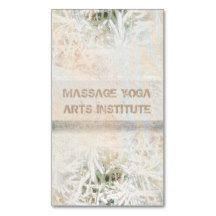 Reiki Art Herbal Nature Healing Business Cards