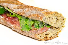 Ham Sandwich Closeup - Download From Over 24 Million High Quality Stock Photos, Images, Vectors. Sign up for FREE today. Image: 41918544