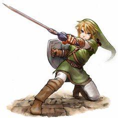 Link - The Legend of Zelda: Twilight Princess The Legend Of Zelda, Legend Of Zelda Breath, Ben Drowned, Breath Of The Wild, Ocarina Of Time, Mundo Dos Games, Marvel Comics, Link Art, Tp Link