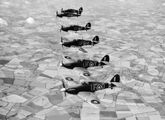 Information on the British Hawker Hurricane fighter aircraft from World War II . Ww2 Aircraft, Fighter Aircraft, Military Aircraft, Raf Bases, Hawker Hurricane, The Spitfires, Supermarine Spitfire, Ww2 Planes, Battle Of Britain