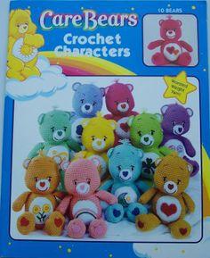 crochet Care Bears - Troetelbeer haken als je het patroon in het Nederlands wil, laat dan even een bericht achter.