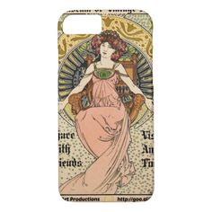 MOVA Art Nouveau Promo 1898 iPhone 8/7 Case   redhead hair color, sassy redhead, natural redhead makeup #redheadsunite #redheadbeauty #redheadmakeup, 4th of july party