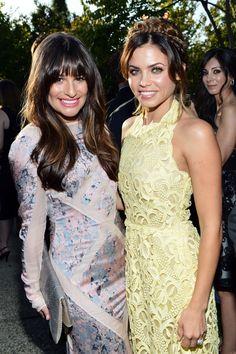 Lea Michele and Jenna Dewan