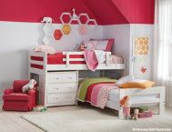Twin Jr.Loft w/shelf, 2 chests | Youth Bedroom | Bedrooms | Art Van Furniture - the Midwest's #1 Furniture & Mattress Stores